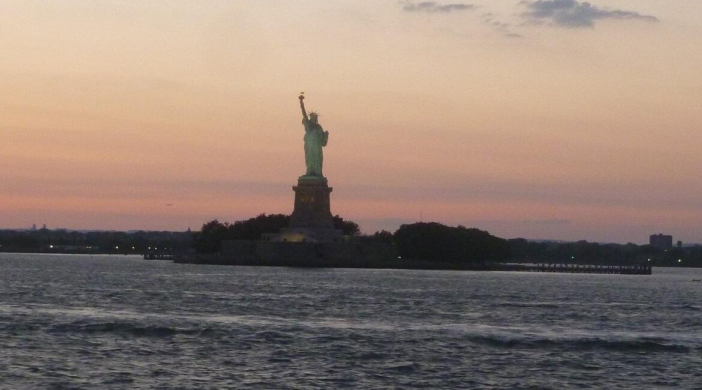 A Estátua da Liberdade de Nova Iorque