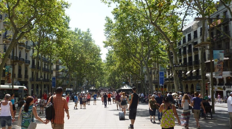 La Rambla ou Las Ramblas de Barcelona