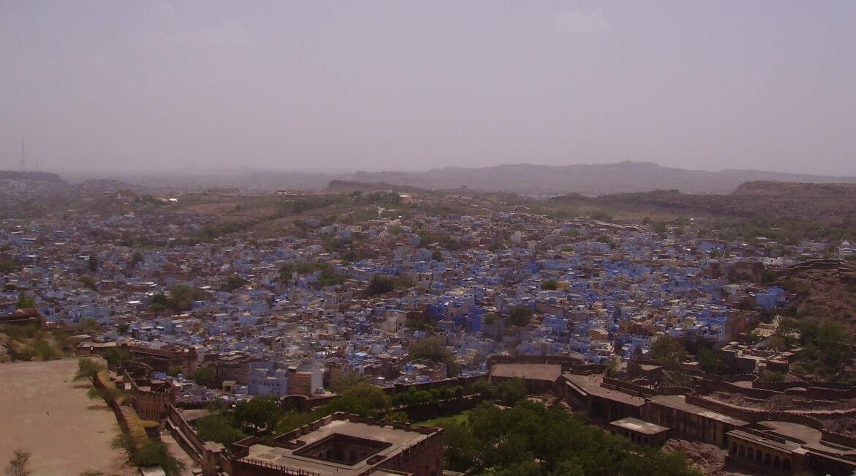 Jodhpur, a cidade azul da Índia