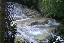 The famous Dunns River Falls in Jamaica - Wandering Life