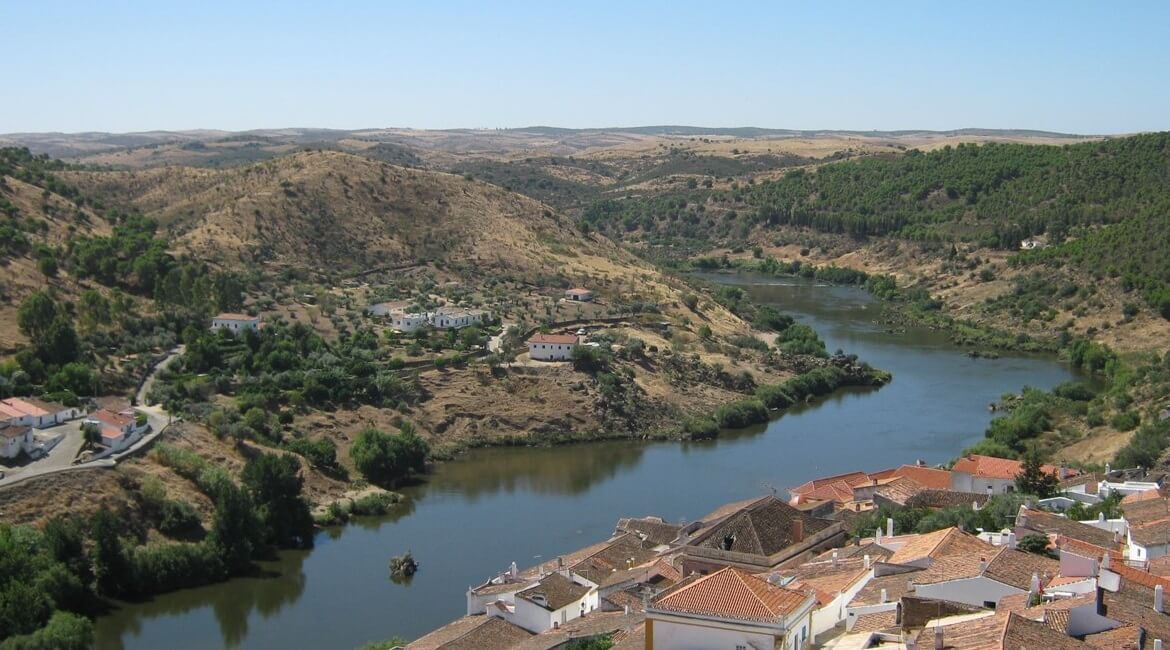 Mértola is the most Arab city of Portugal