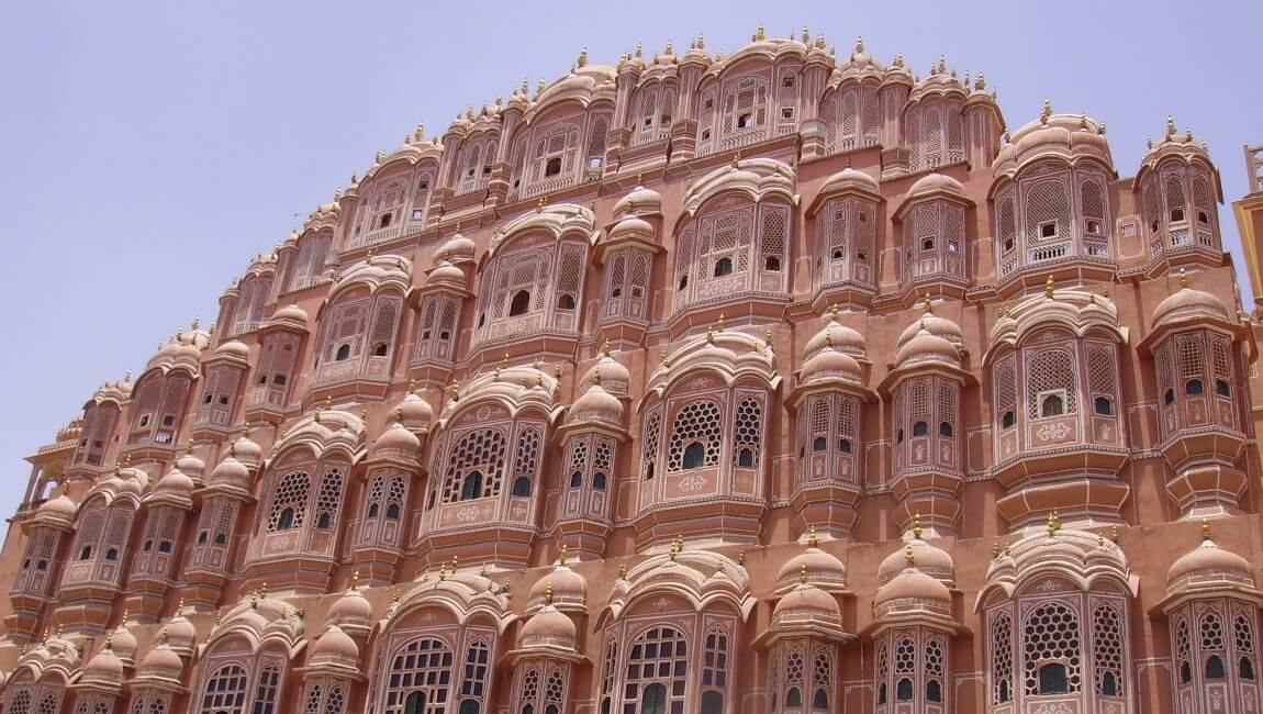 The Palace of Winds of Jaipur