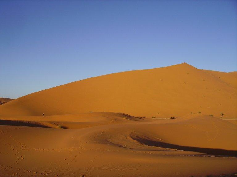 The Sahara Desert in Morocco - Wandering Life
