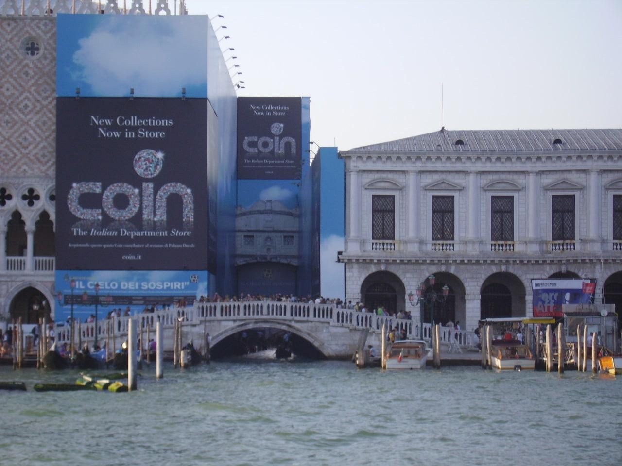 A ponte dos suspiros de Veneza