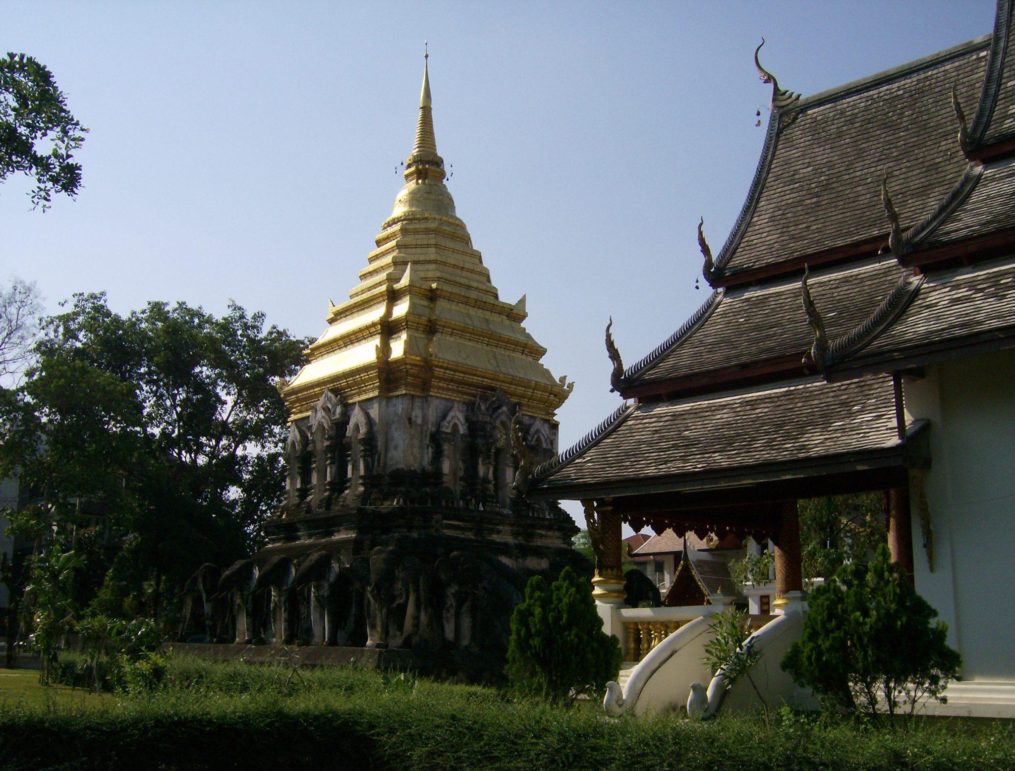 O templo mais antigo de Chiang Mai