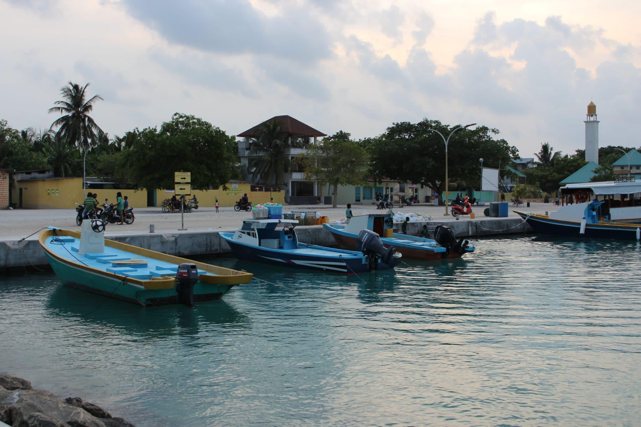 Ukulhas, one authentic island of Maldives