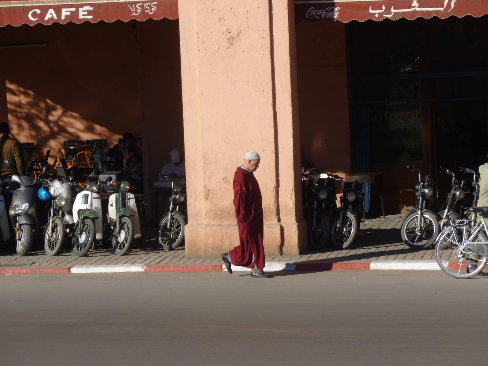Um mês em Marrocos