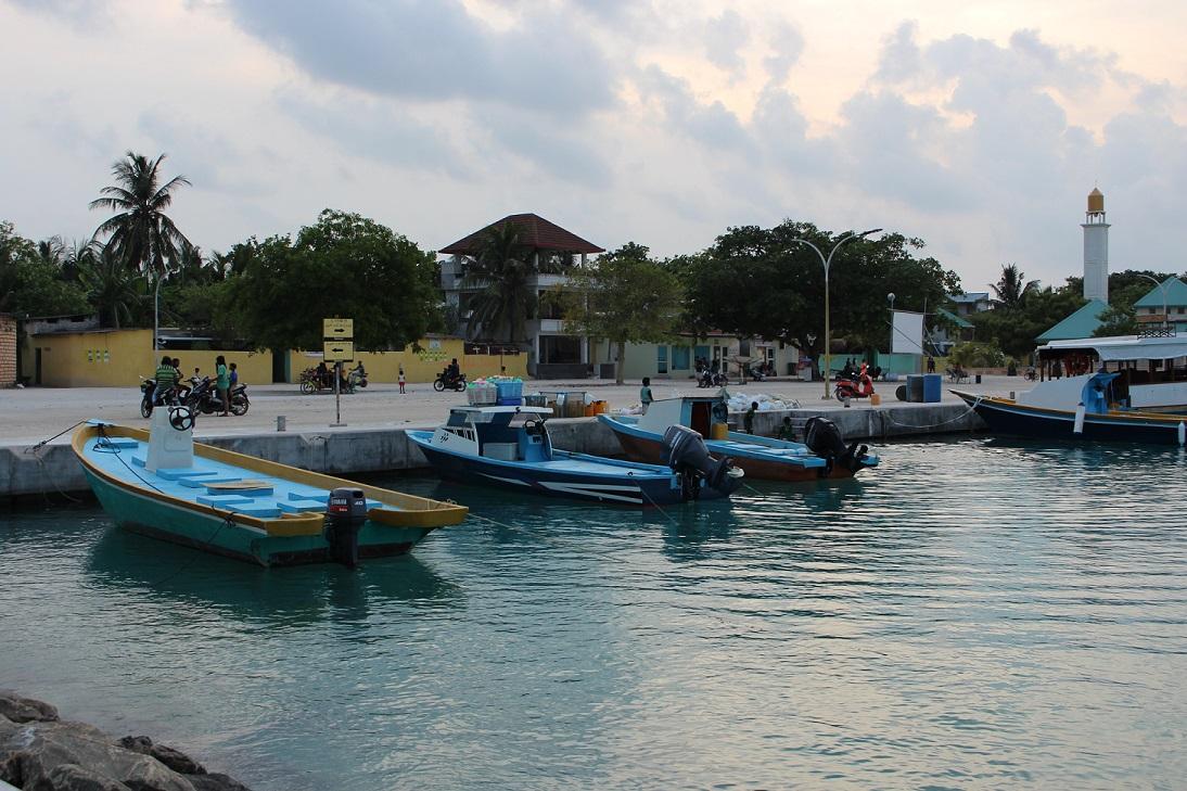 Porto da ilha de Ukulhas
