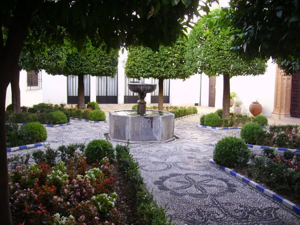 A courtyard in Cordoba, Spain