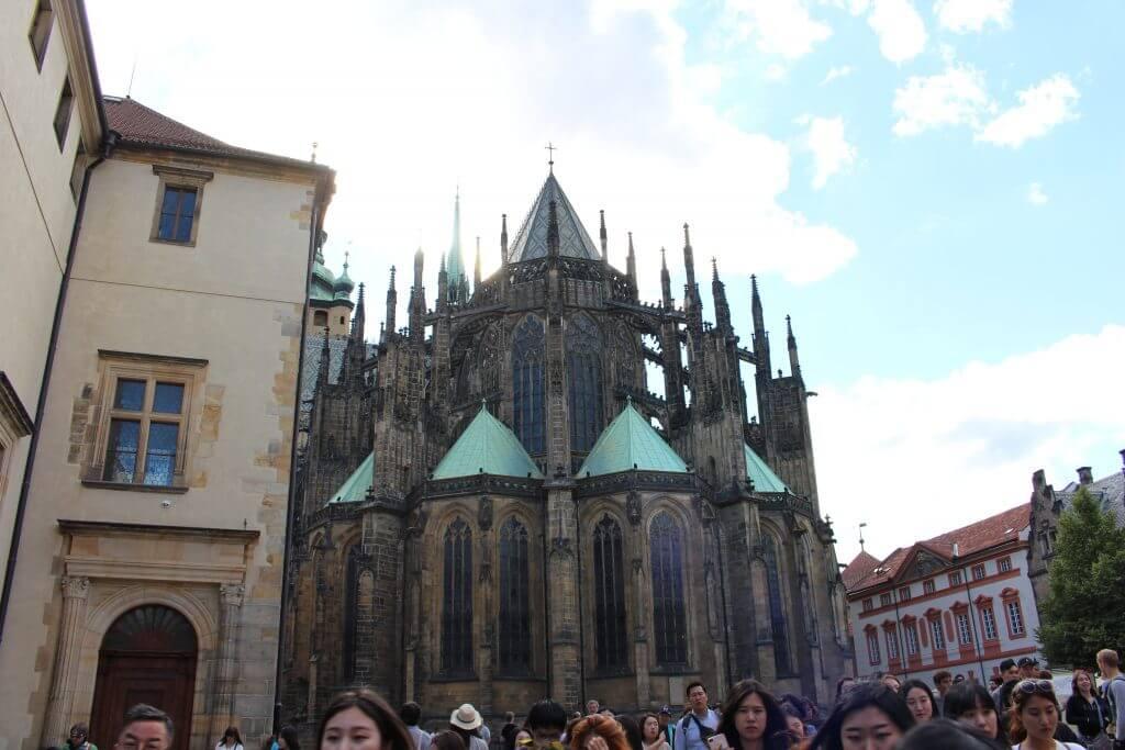 Catedral de S. Vito viagem Praga