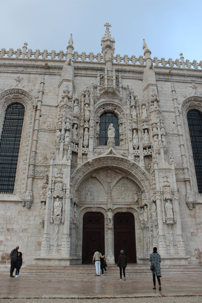 South Gate of Monastery of Jerónimos, Portugal