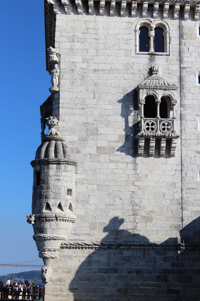 Tower of (São Vicente) Belém detail, Portugal