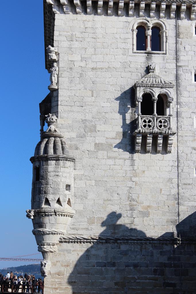 Pormenor da Torre de Belém