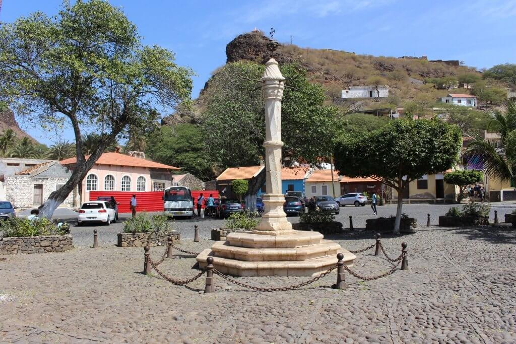 Largo do Pelourinho, ilha de Santiago, em Cabo Verde