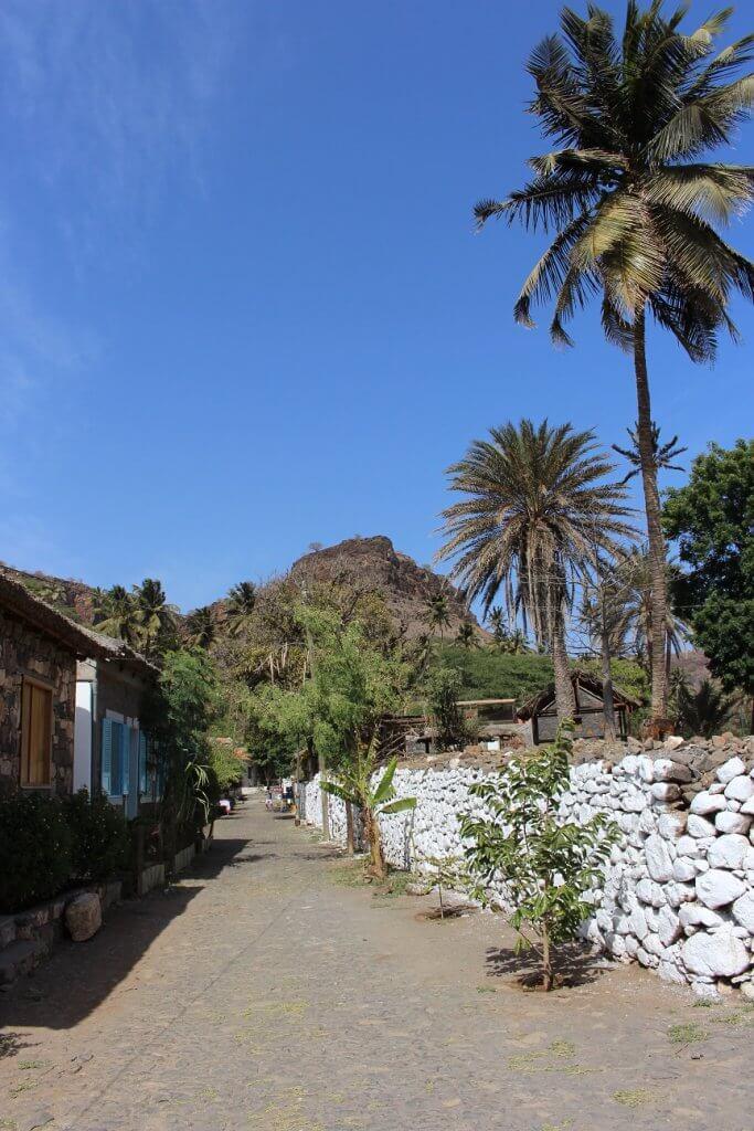 Banana Street, Santiago Island, Cape Verde