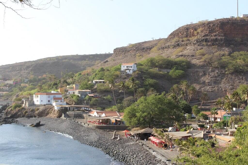 Cidade velha, na ilha de Santiago (Cabo Verde)