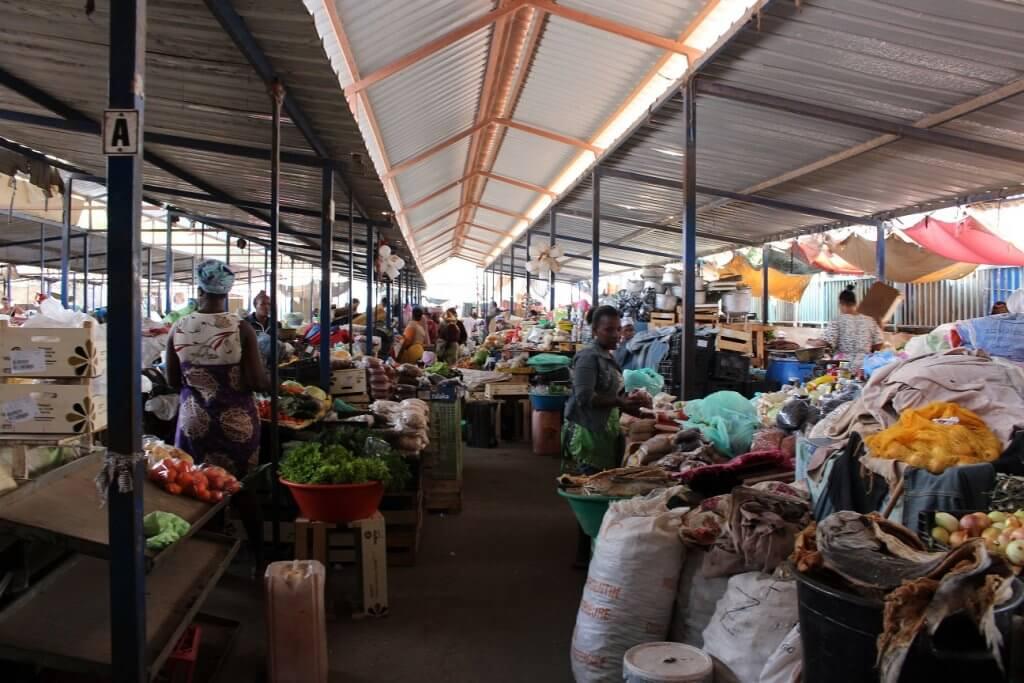 Mercado de Sucupira, ilha de Santiago, em Cabo Verde