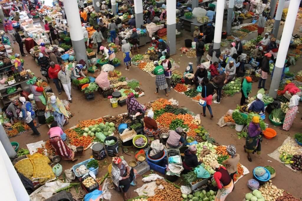 Mercado de Assomada, ilha de Santiago, Cabo Verde