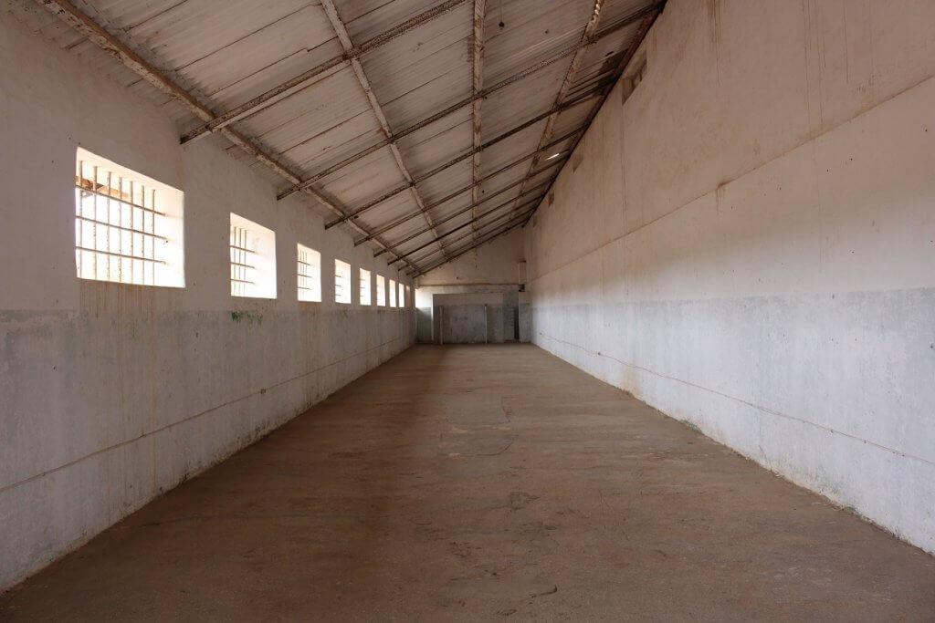 Cela dos presos políticos angolanos, ilha de Santiago, Cabo Verde