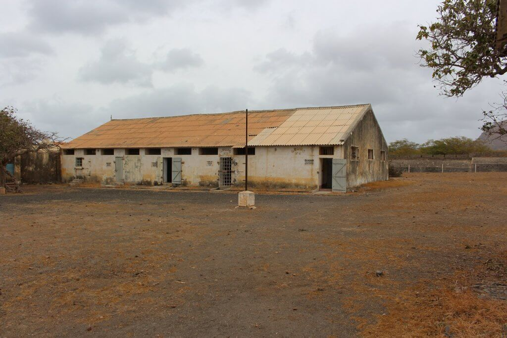 Building where the workshop, the cafeteria, the cells and the disciplinary cells were located, Santiago island, Cape Verde