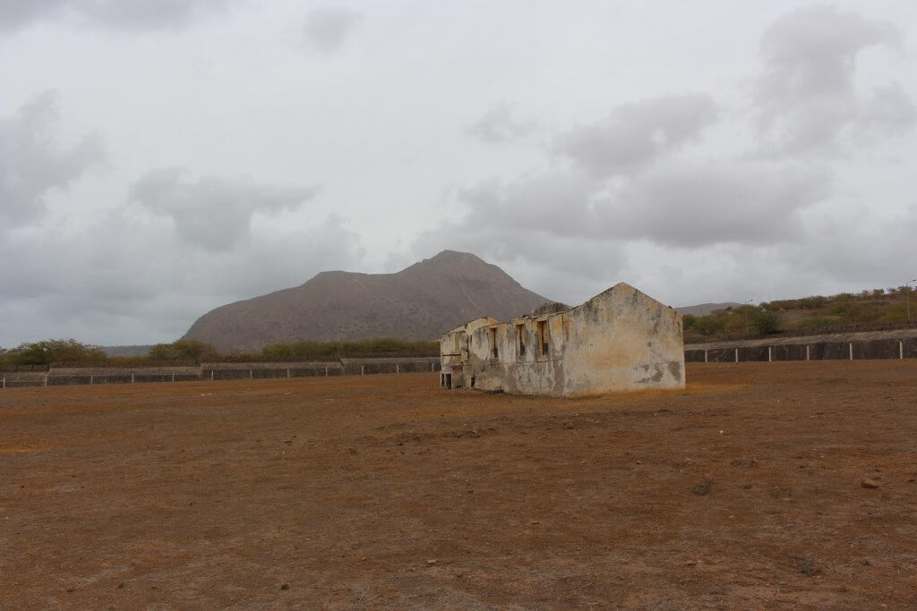 Campo do Tarrafal, ilha de Santiago, em Cabo Verde