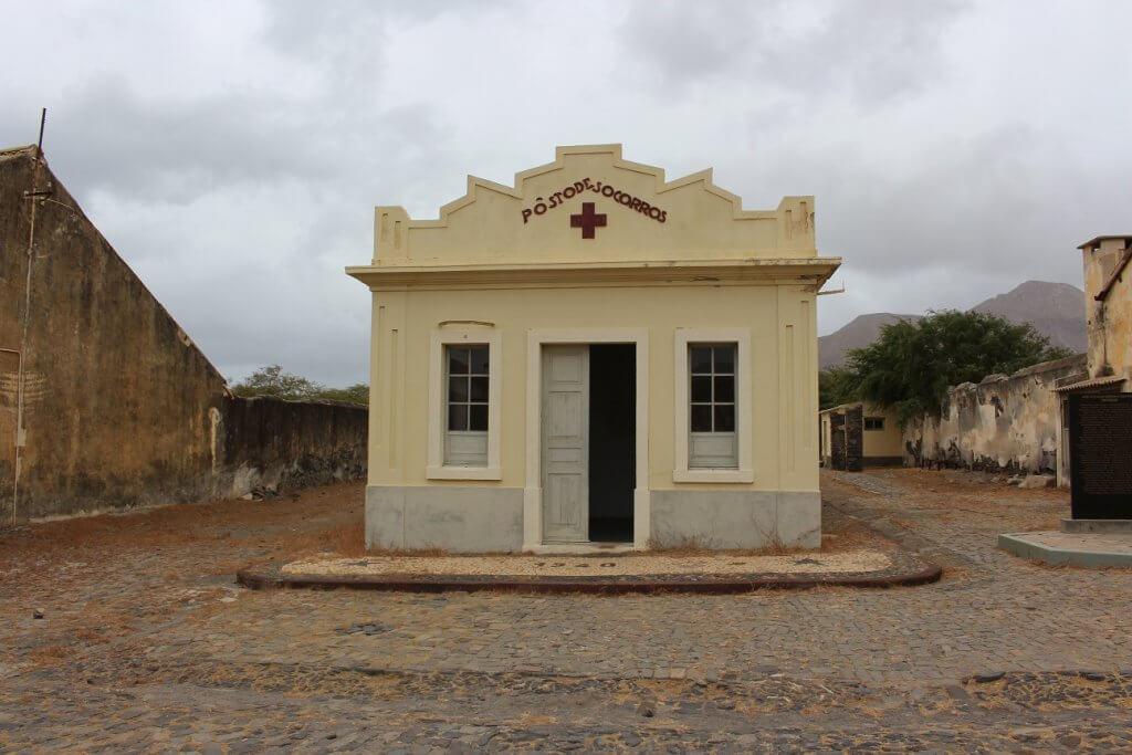 Posto médico do Campo de Concentração do Tarrafal, ilha de São Vicente, Cabo Verde