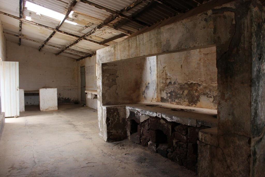Cozinha do Campo de Concentração do Tarrafal, ilha de São Vicente, Cabo Verde
