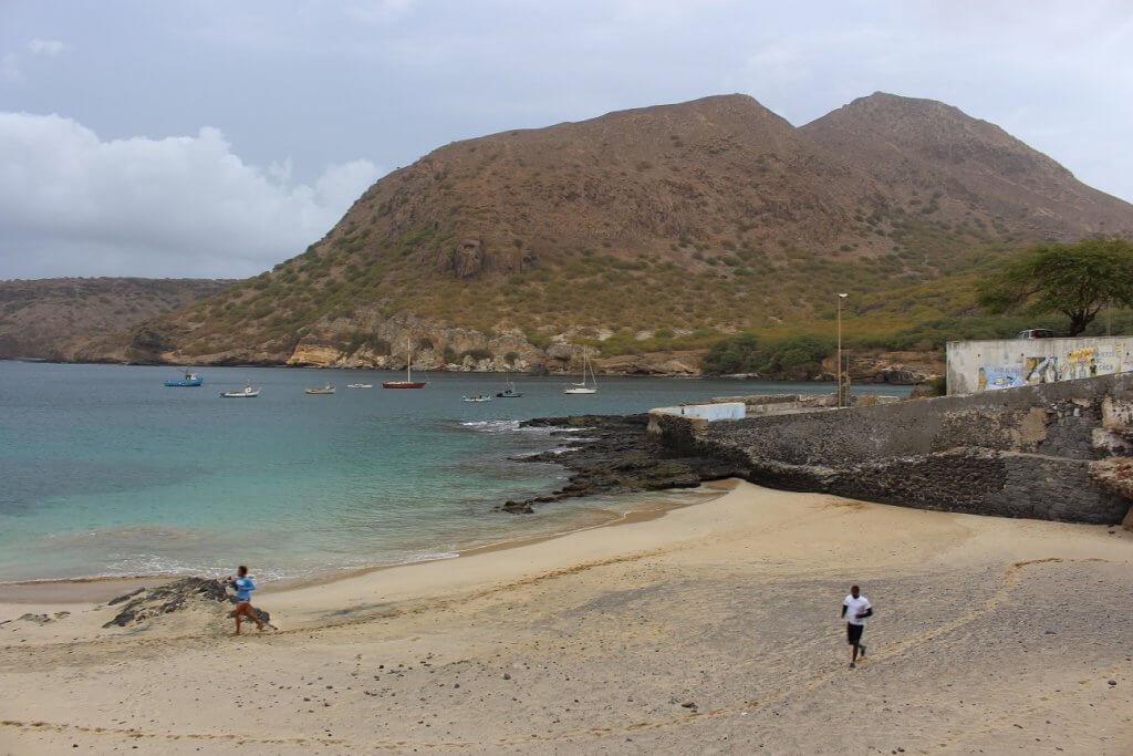Praia do Tarrafal, ilha de Santiago, Cabo Verde