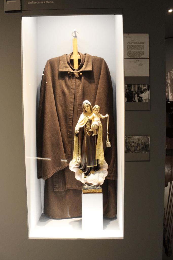 D. Nuno Carmelite habit, GNR museum, Lisbon, Portugal