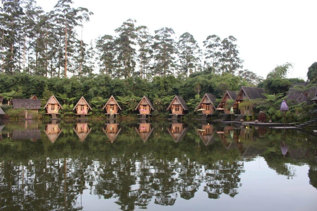 A ilha de Java para além de Yogyakarta