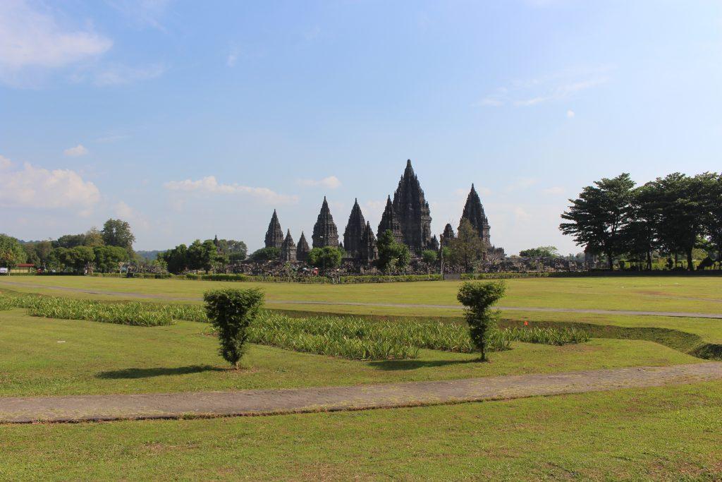 Templo principal do Prambanan, Java, Indonésia