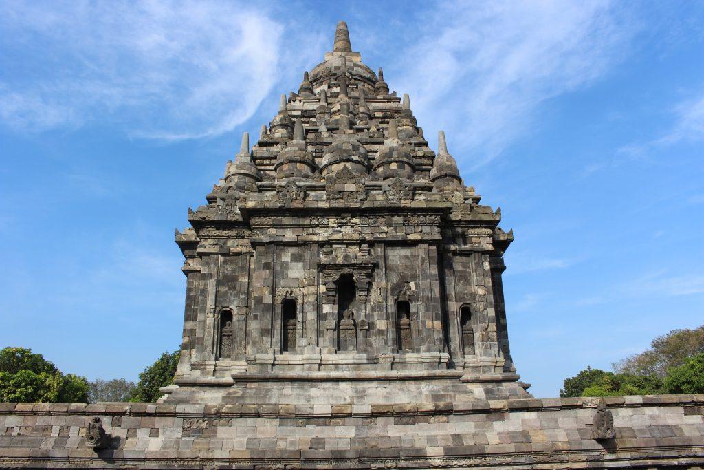Templo Bubrah no Prambanan, Java, Indonesia