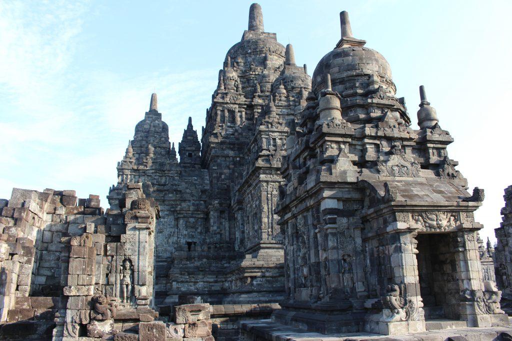 Templo Sewu no Prambanan, Java, Indonésia