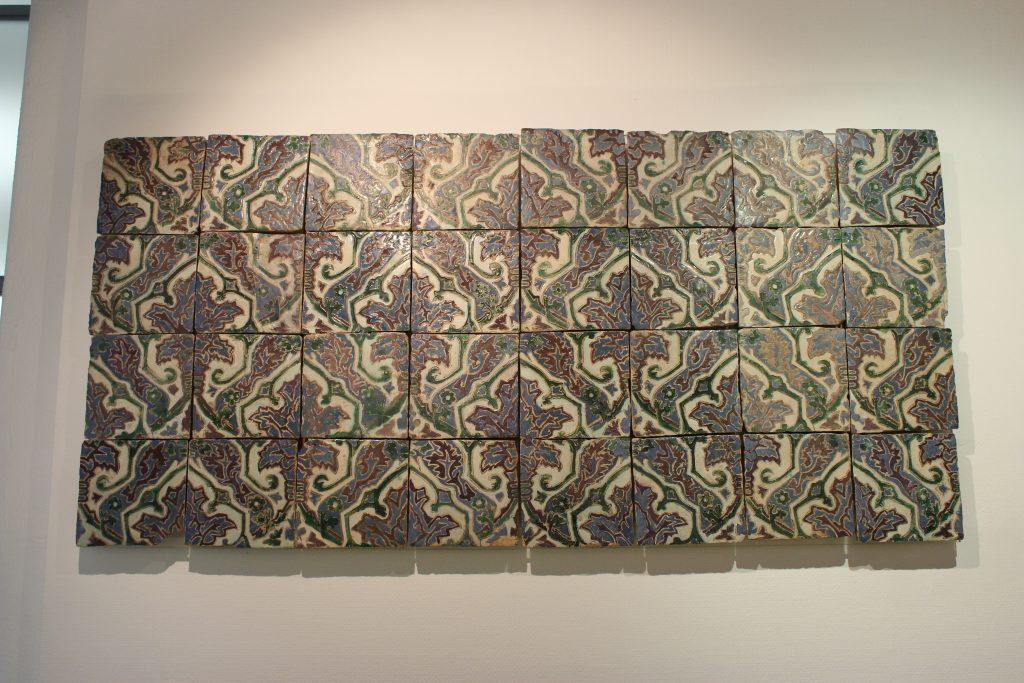 Azulejos provenientes de Sevilha, Museu Nacional do Azulejo