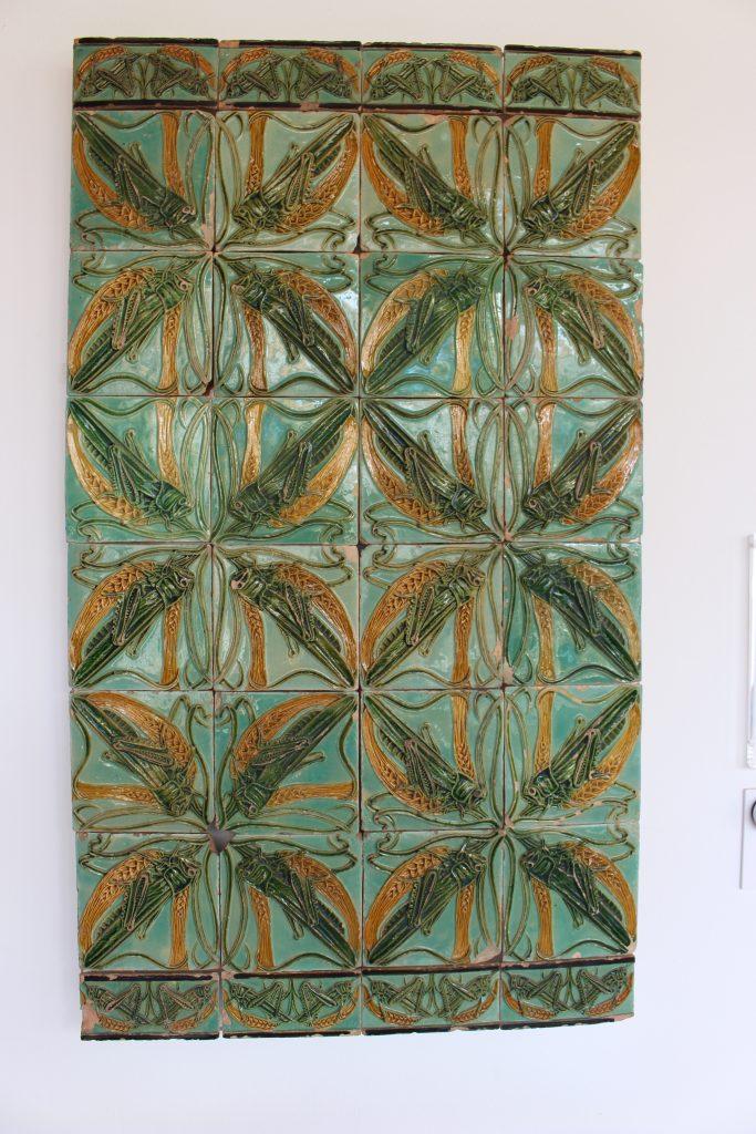 Tiles by Rafael Bordalo Pinheiro