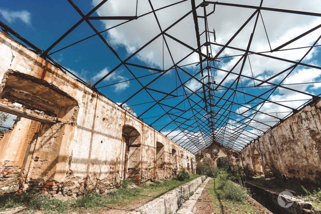 Oficinas ferroviárias das Minas de São Domingos (Foto de Filipe Morato Gomes)