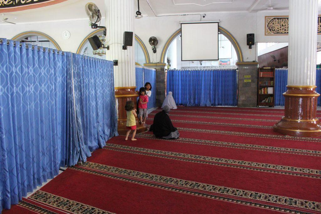 Mesquita na ilha de Java
