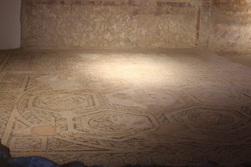 Pavimento em mosaico, hotel em Lisboa