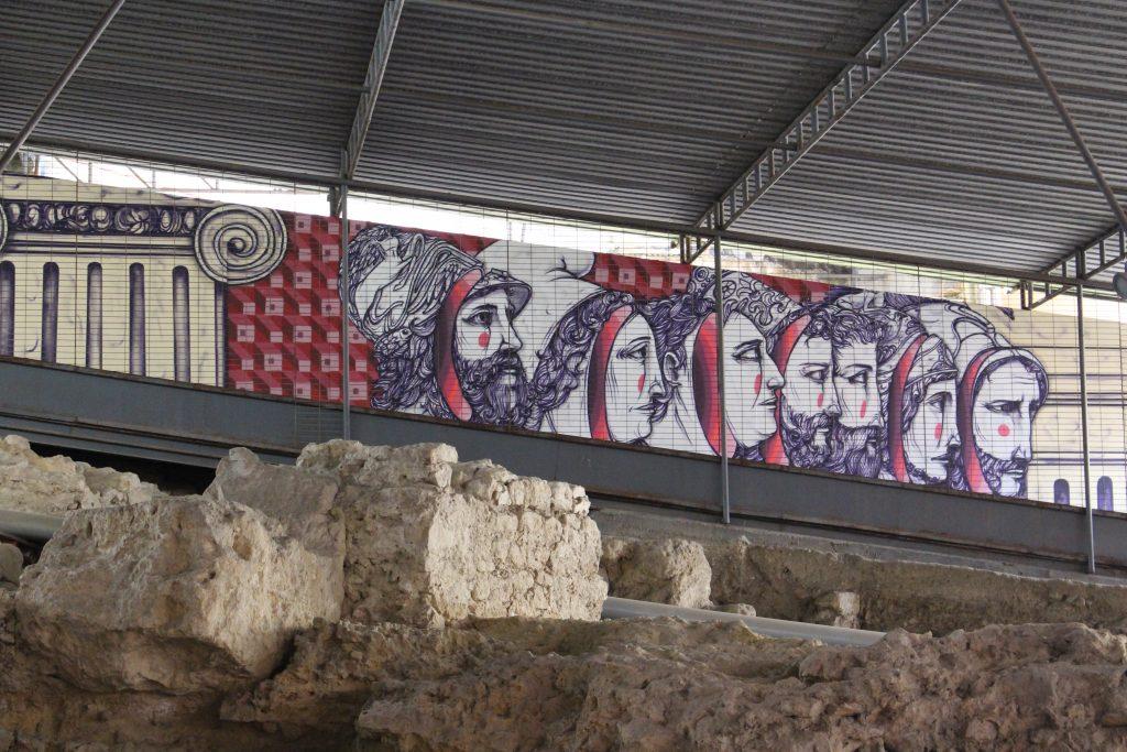 Máscaras romanas utilizadas no teatro romano, Lisboa