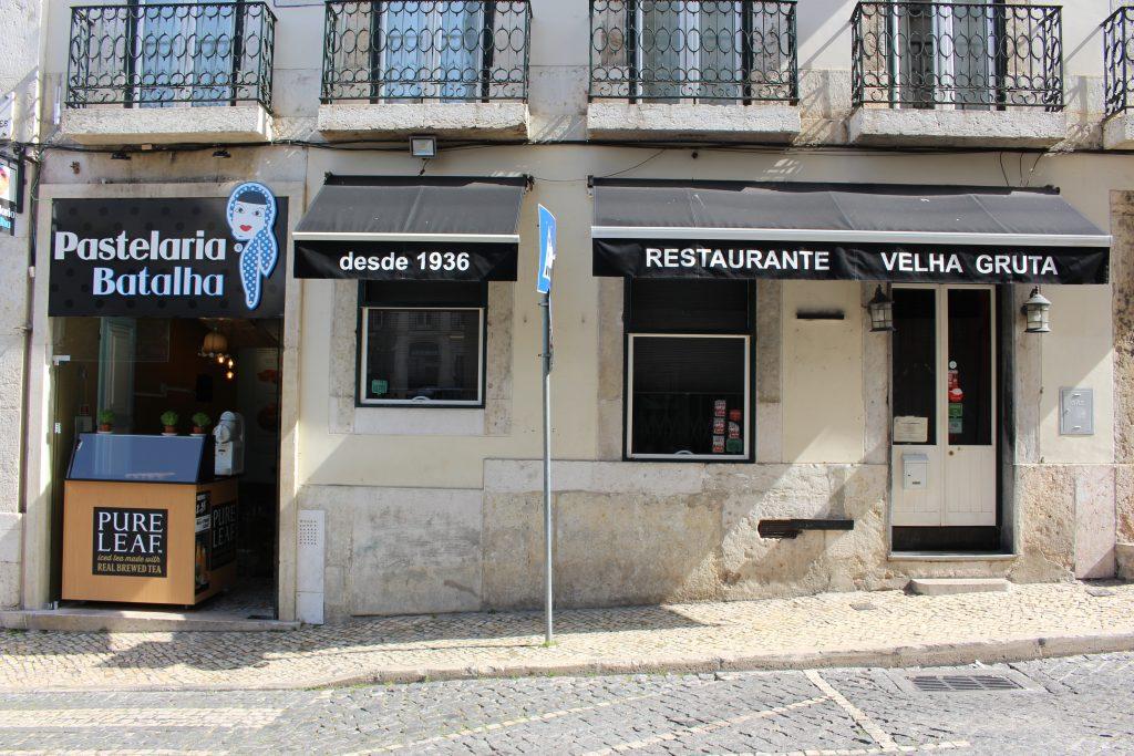 Pastelaria Batalha no Largo Camões (Lisboa)