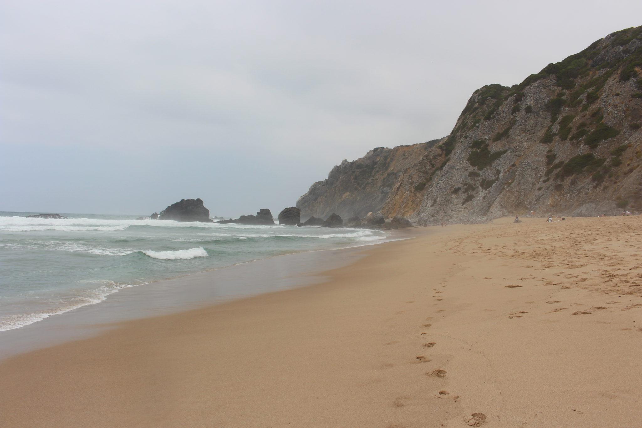 Praia da Adraga, Colares
