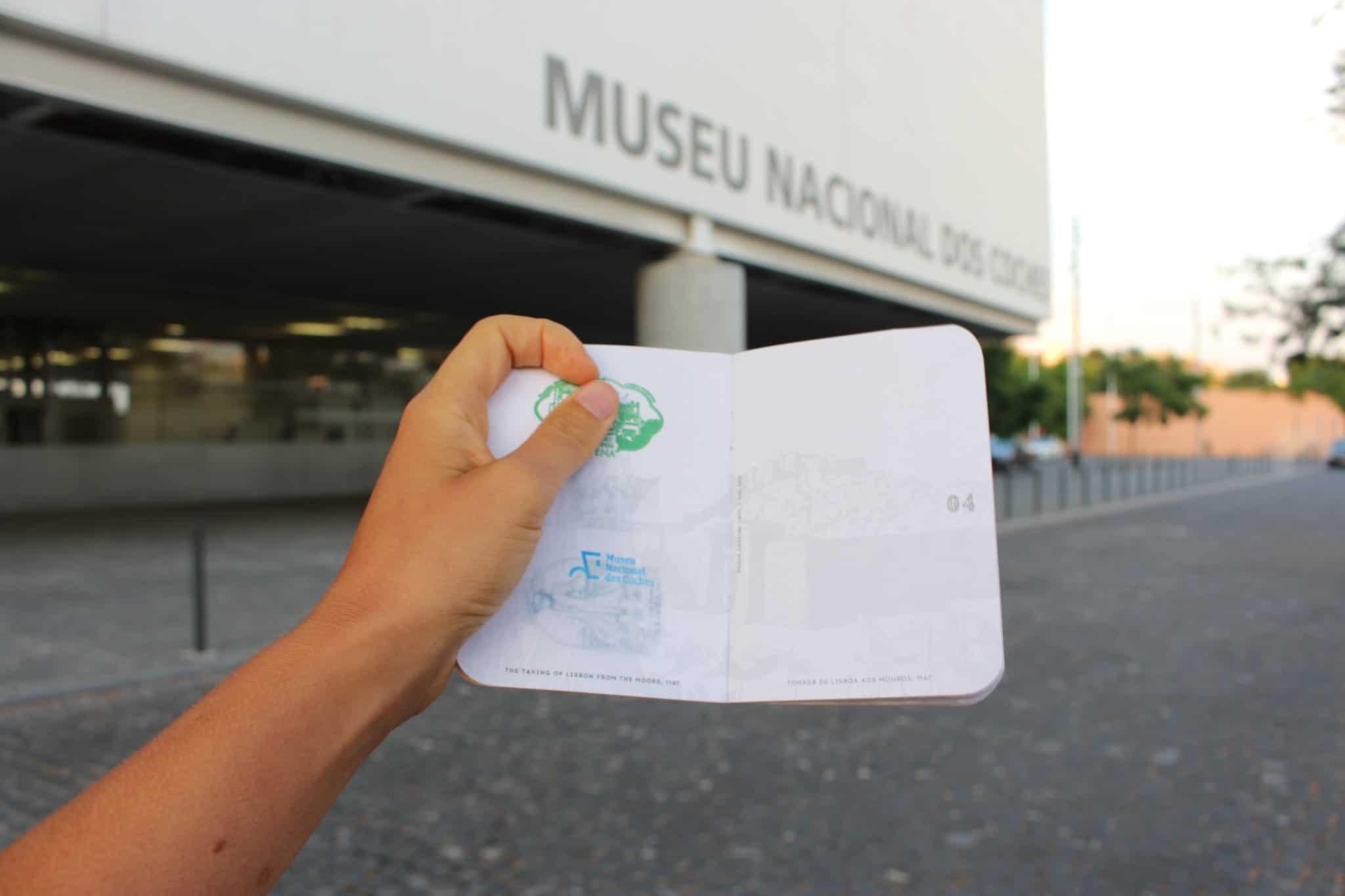 Lisboa Passport com o carimbo do Museu Nacional dos Coches