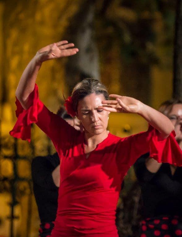 A dançar flamenco, em Lisboa