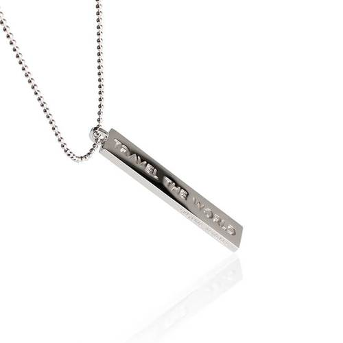 Travel the world necklace - Travel jewelry (Source: Cristina Ramella)