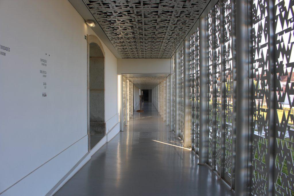 Corredor do Museu Interactivo do Megalitismo