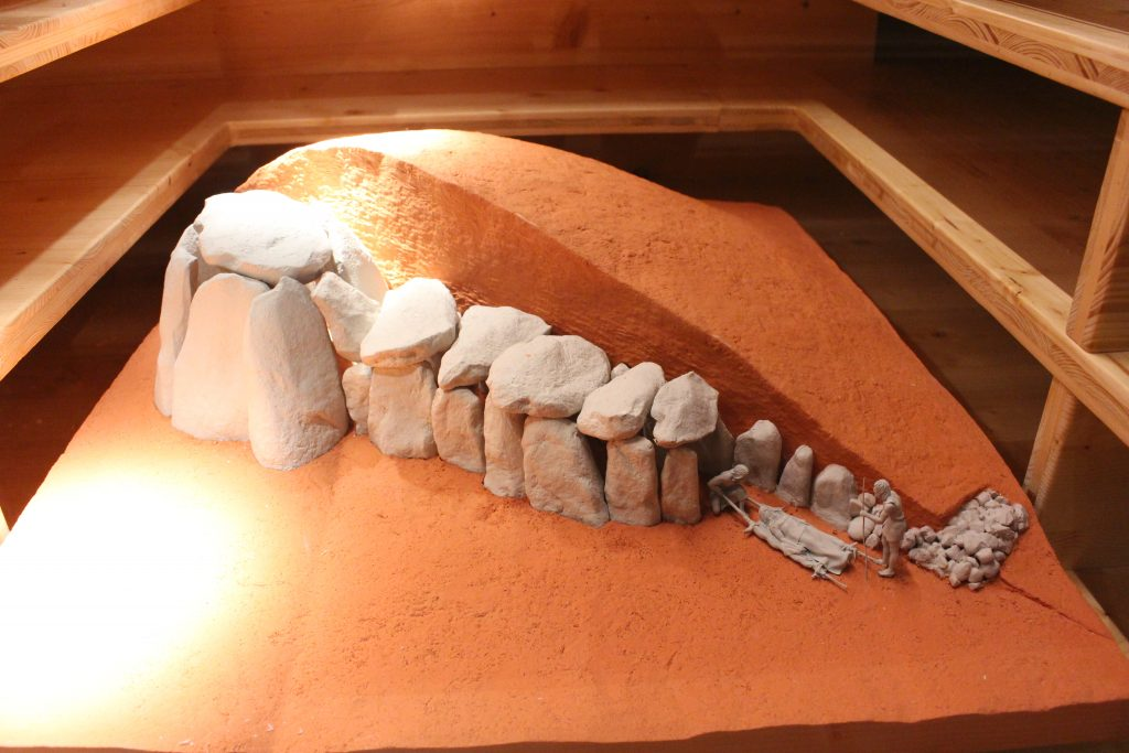 Anta com câmara e corredor, Museu Interactivo do Megalitismo, Mora