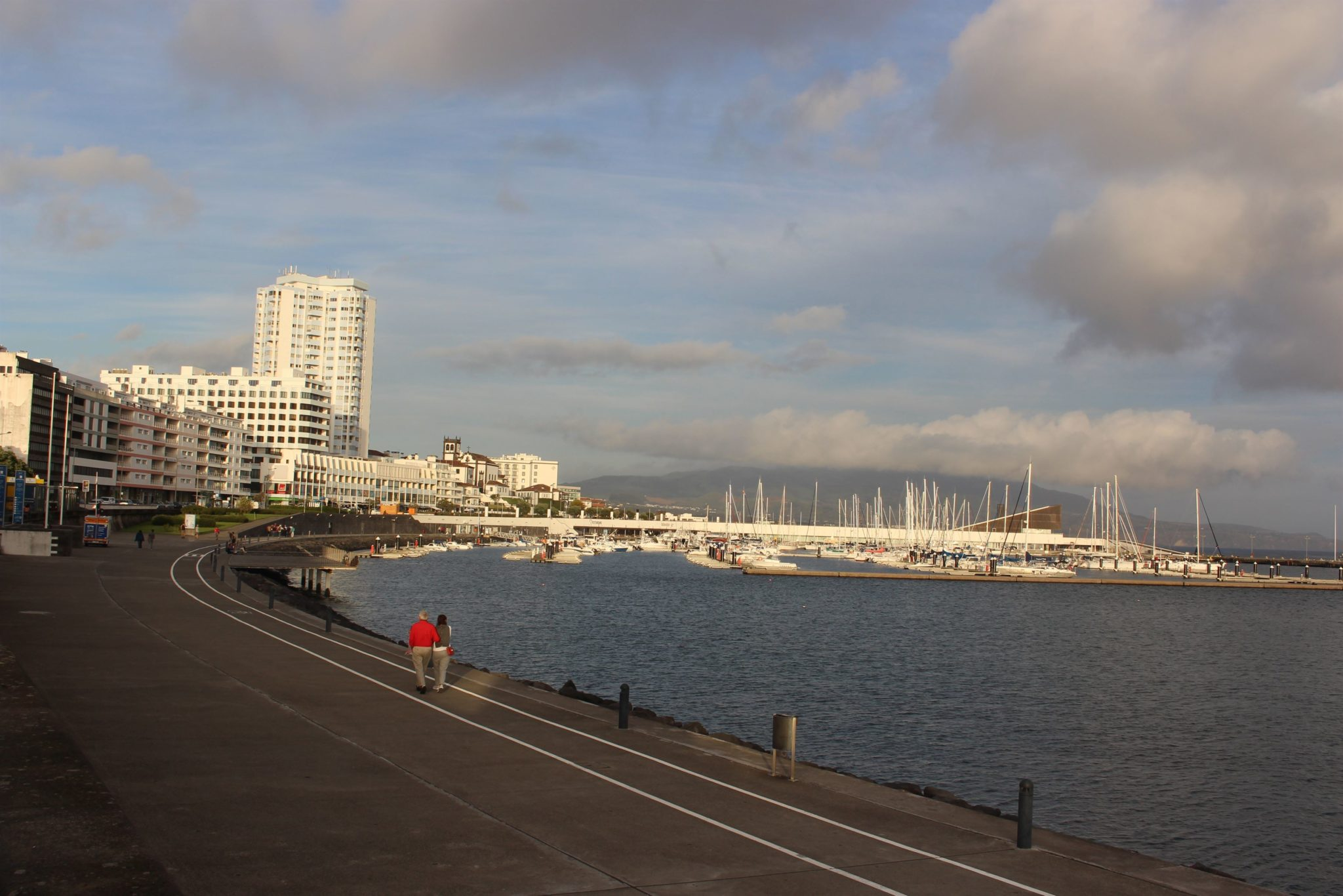 Passeio marítimo, S. Miguel, Açores