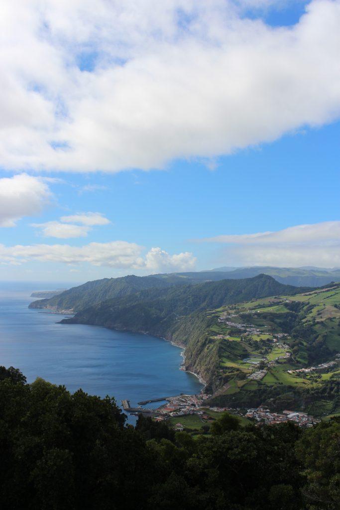 Vila da Povoação, junto ao mar, S. Miguel, Açores