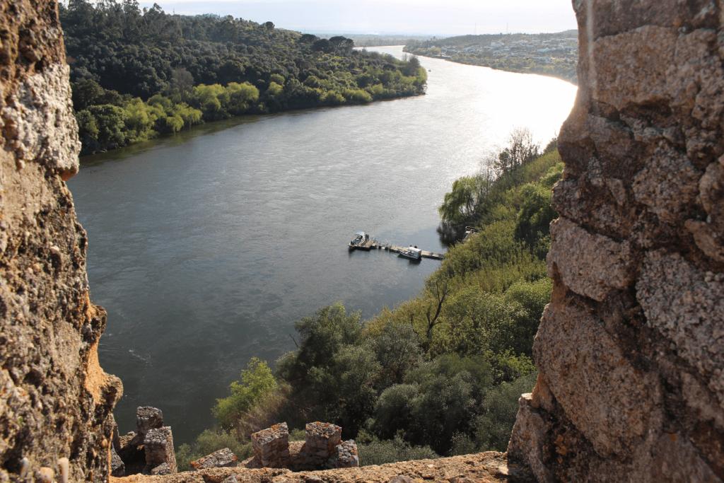 Vista a partir da torre de menagem (Castelo de Almourol)
