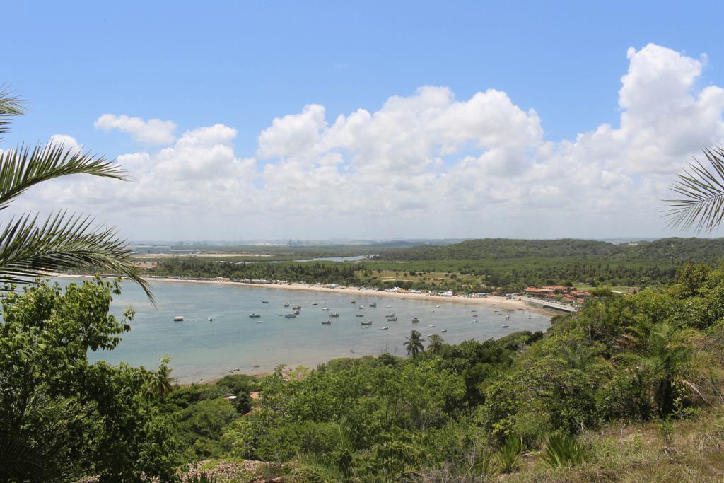 Baía de Suape (a partir do Mirante do Paraíso), no Cabo de Santo Agostinho